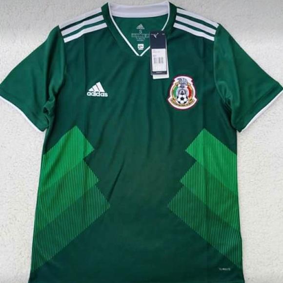 new style a6fee de78b 2018 Mexico Green Jersey REPLICA NWT